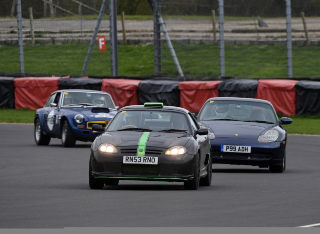 Guild of Motoring Writers track day